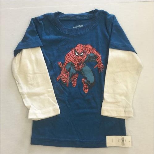 BN 1-2yr Boy Spiderman Top