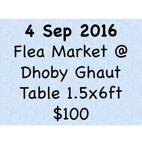 4 Sep 2016 Flea Market at Concorde Hotel