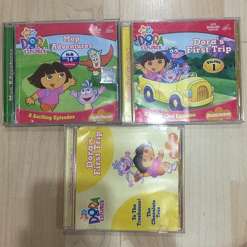 3 VCDs Dora