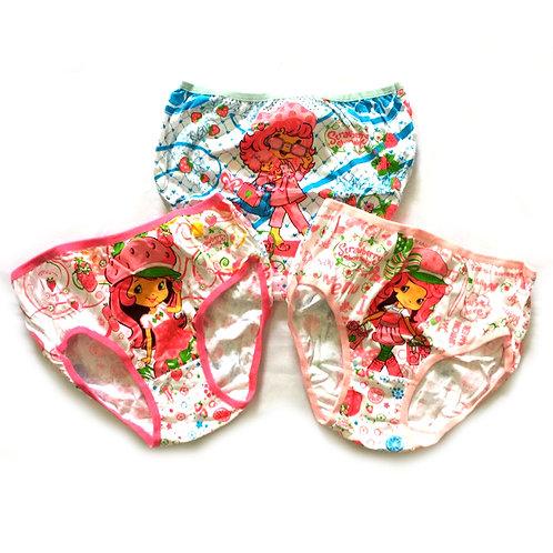 BN 3pcs Size 6-7Yr Girl Panties