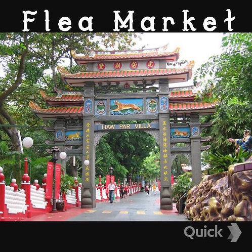 12 Jun 2016 Flea Market at Haw Par Villa