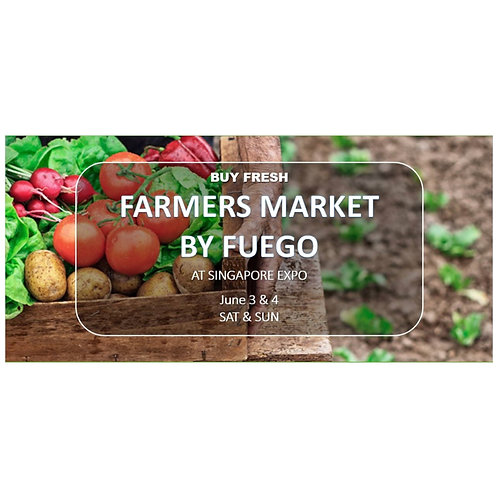 3 & 4 June 2017 Farmers Market - Expo