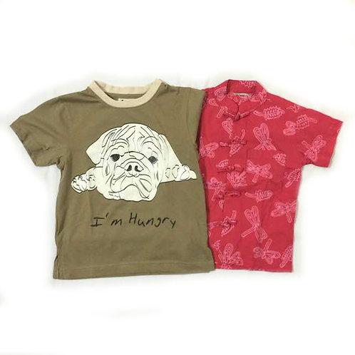 2pcs Size 2-3Yr Boy Clothes Bundle