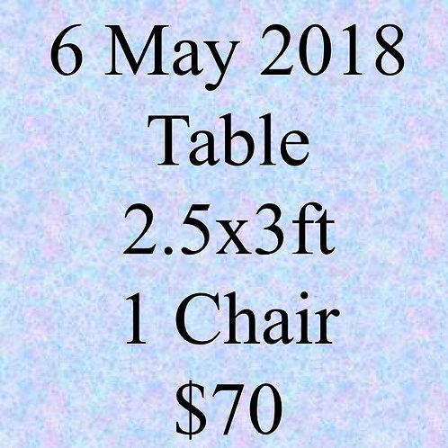 6 May 2018 Flea Market at Concorde Hotel