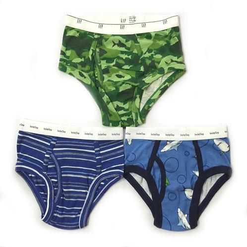 3pcs Size 4-5Yr Boy Briefs