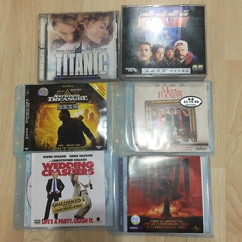 6 VCDs