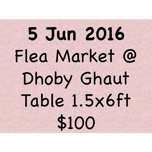 5 Jun 2016 Flea Market at Concorde Hotel