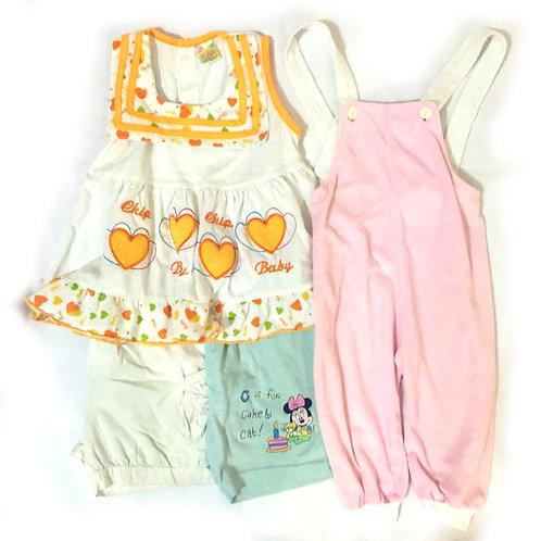 4pcs Size 2-3Yr Girl Clothes Bundle