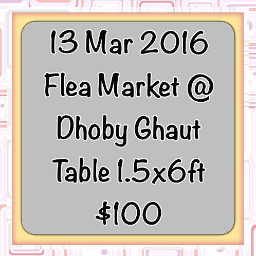 13 Mar'16 - Flea Market at Concorde Hotel