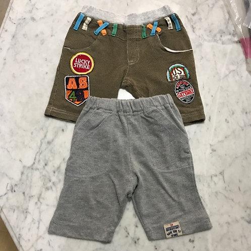 2pcs Size 2-3yr Boy Pants