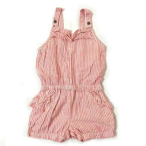 Size 1-2Yr Girl Romper Overalls