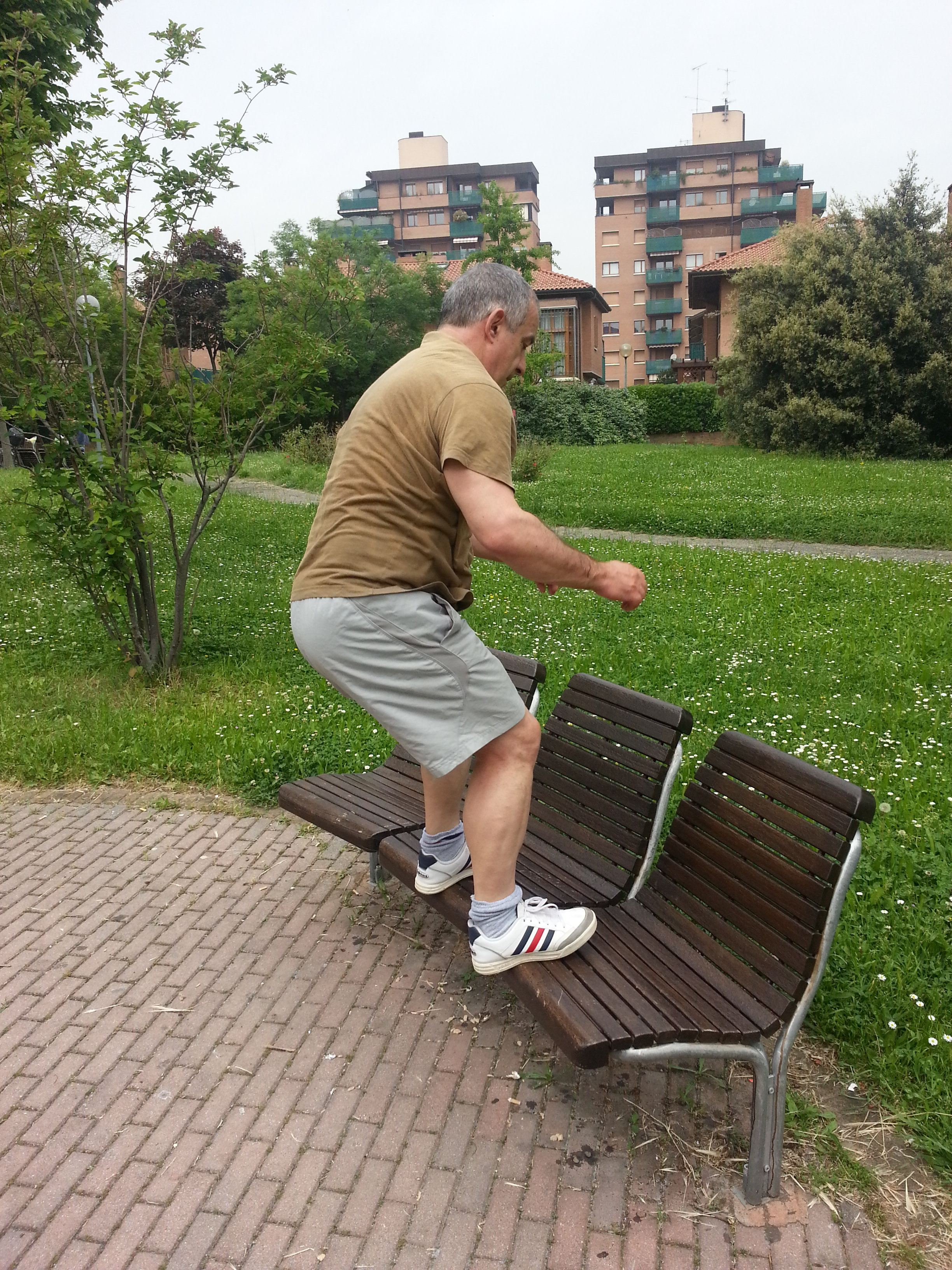 Sulla panchina