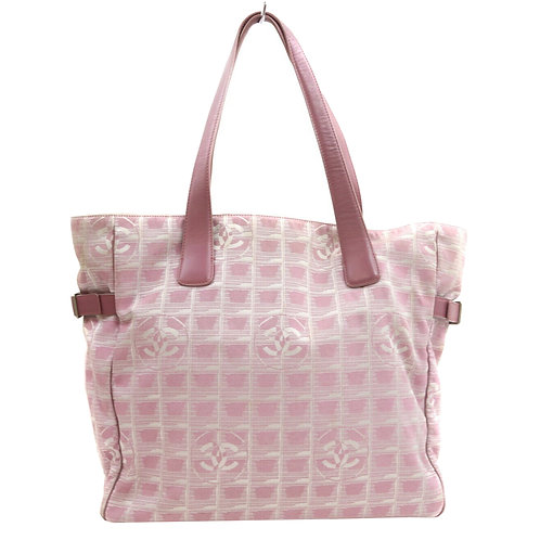 CHANEL PINK TOTE