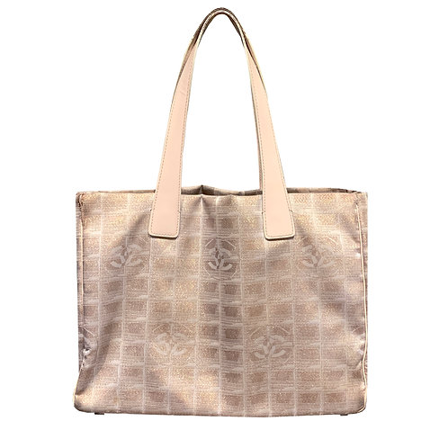 CHANEL FABRIC TOTE