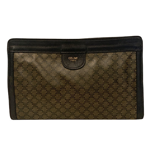 CELINE MONOGRAM CLUTCH