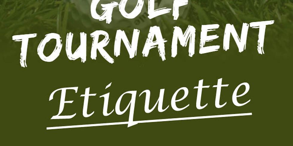 *Jump Start* Golf Tournament Etiquette, Golf Vocabulary & Terminology