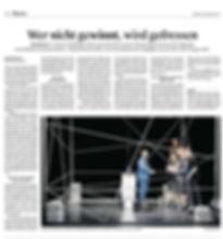 Kritik zu BANDSCHEIBENVORFALL Theater Aeternam - Luzerne Zeitung