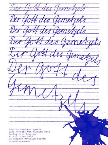 Gott des Gemetzels - 2009
