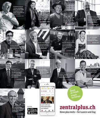 zentralplus — Imagekampagne