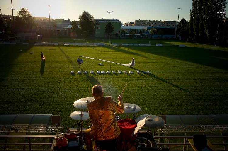 Tod in Theben auf dem Kickers Fussballplatz 2015