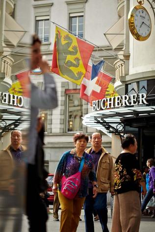 Touristenstadt Luzern — Stadtsicht