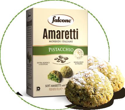 Falcone Pistachio Amaretti