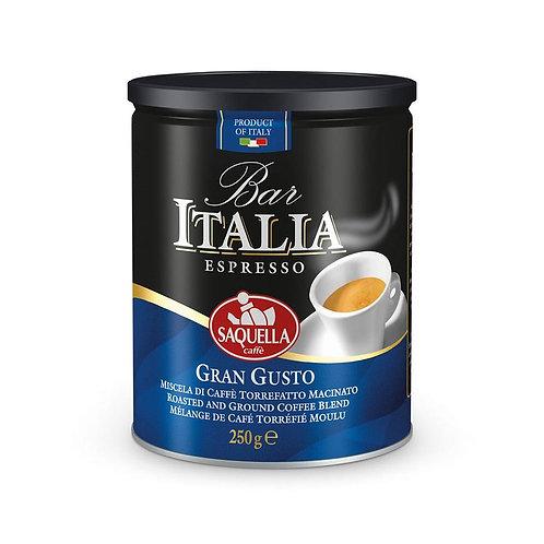 Saquella Caffè - Gran Gusto Tin