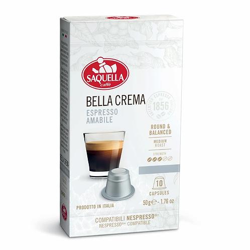 Saquella Caffè - Bella Crema Espresso Amabile Capsules