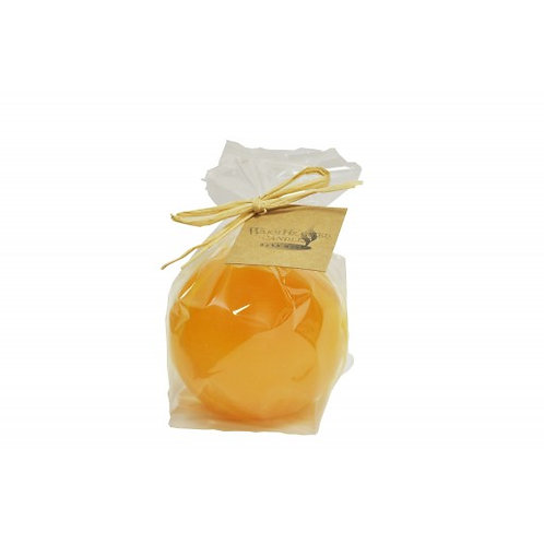 WARM HEARTED UNSCENTED CANDLES MARBLE BALL CANDLE
