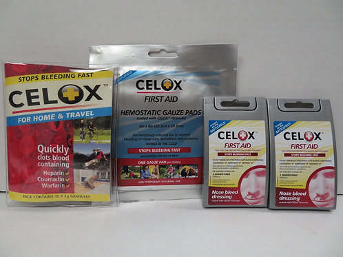 CELOX First Aid Safety Pack