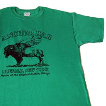 ANCHOR BAR GREEN T-SHIRT