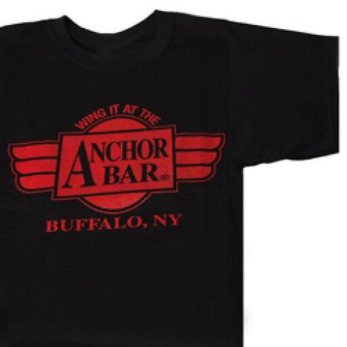 ANCHOR BAR WING IT BLACK/RED T-SHIRT
