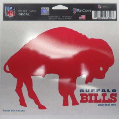 Buffalo Bills Decal-Red