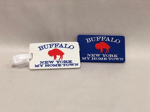BUFFALO NY LUGGAGE TAGS