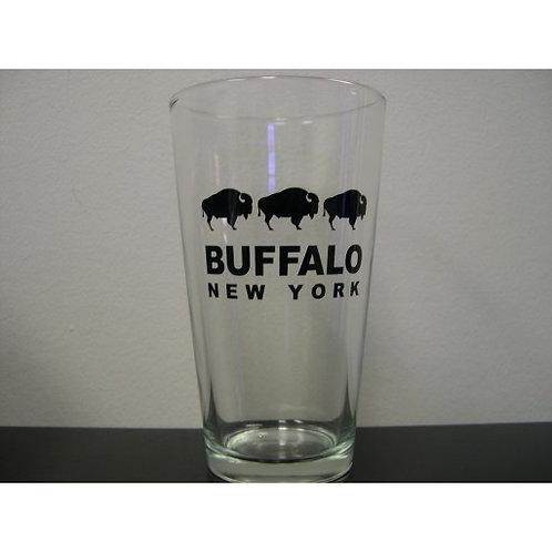 BUFFALO NY PINT GLASS