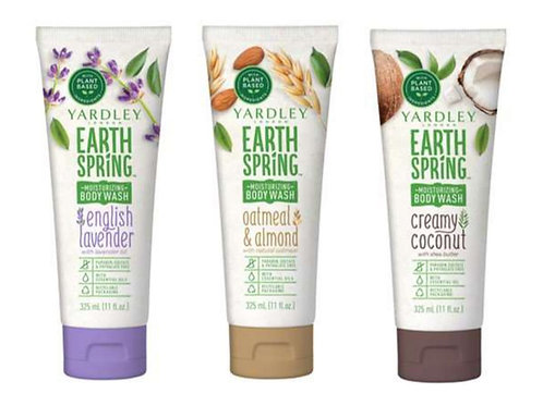 Yardley Earth Spring Shower Gel 3 Pack