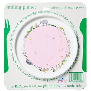 SMILING PLANET BABY PLATE