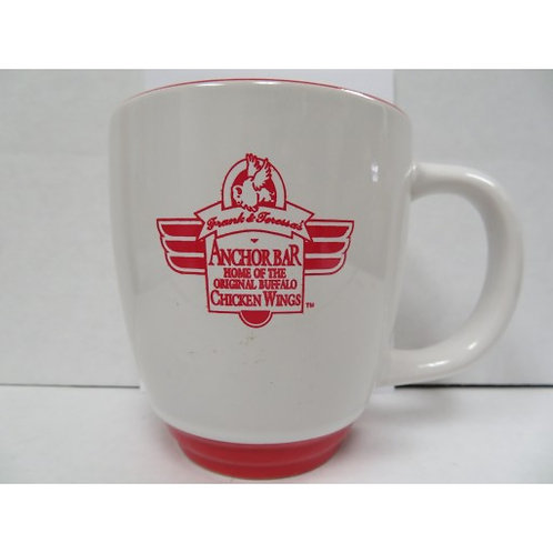 ANCHOR BAR COFFEE MUG (White, Red Lettering)