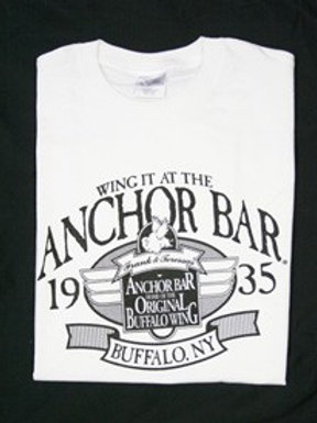 ANCHOR BAR WING IT WHITE TEE