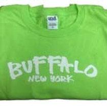 BUFFALO, NY SHIRT - Lime Green