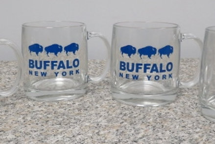 BUFFALO GLASS MUG SET