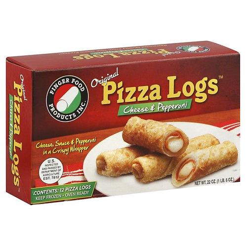 ORIGINAL PIZZA LOGS - FREE PRIORITY OVERNIGHT SHIPPING