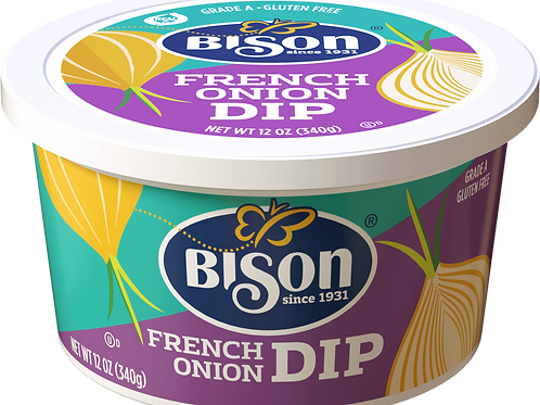 BISON FOOD FRENCH ONION CHIP DIP (FREE PRIORITY OVERNIGHT SHIPPING)