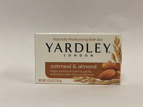 Oatmeal & Almond with Natural Oats Bar Soap