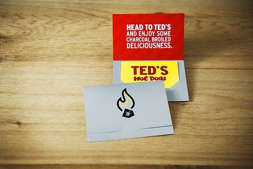 TED'S HOT DOGS GIFT CARD