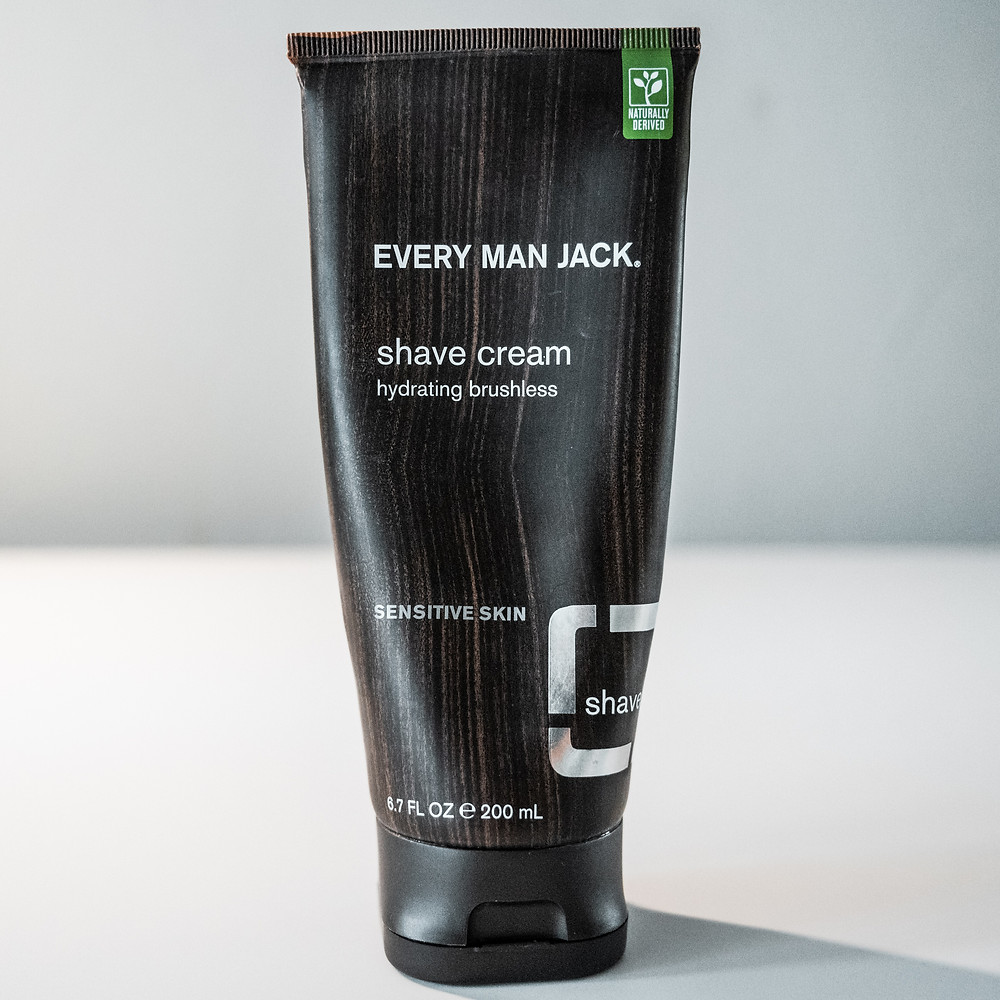 Every Man Jack Hydrating Brushless Shave Cream for Sensitive Skin