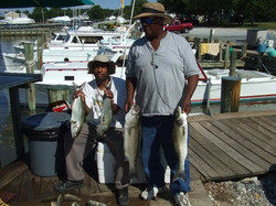 Rockfish and Bluefish