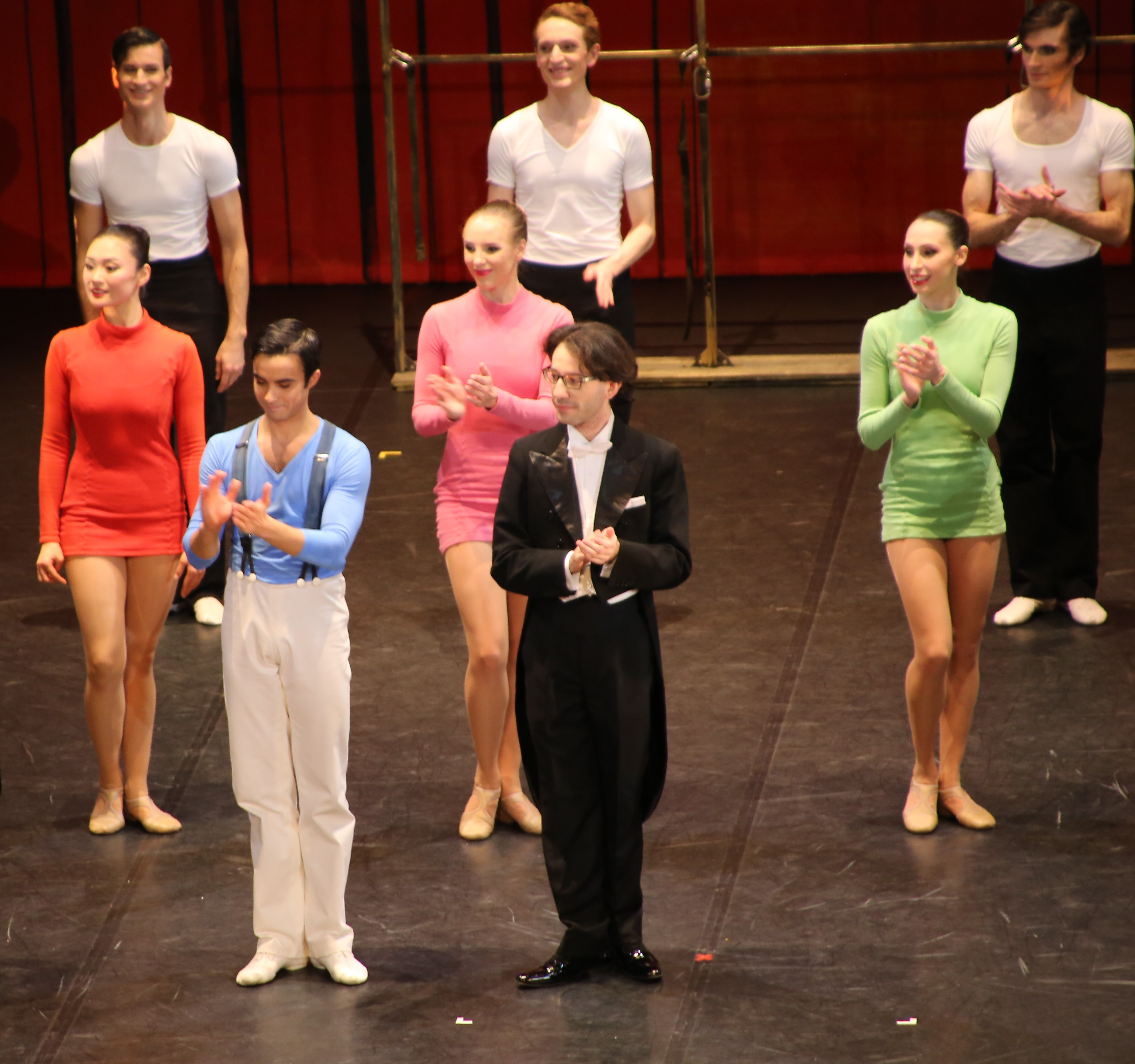 Alessio Passaquindici, Léonard Ganvert et le ballet