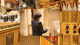 La Révolte des orgues pour 9 orgues et p