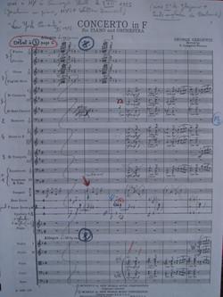 G. Gershwin, Concerto en Fa